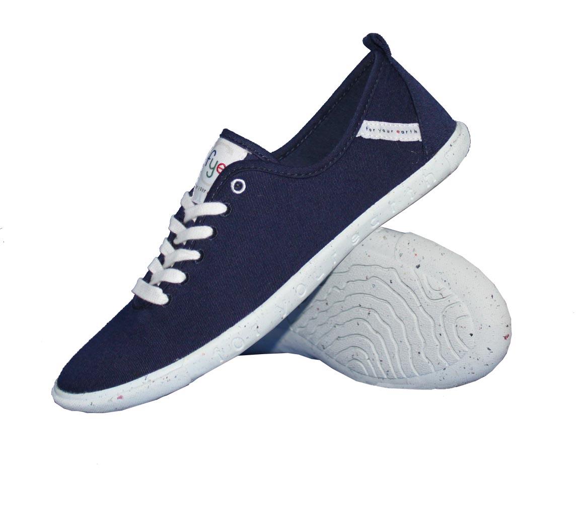 chaussure femme bleue basket cologique fye pas cher. Black Bedroom Furniture Sets. Home Design Ideas